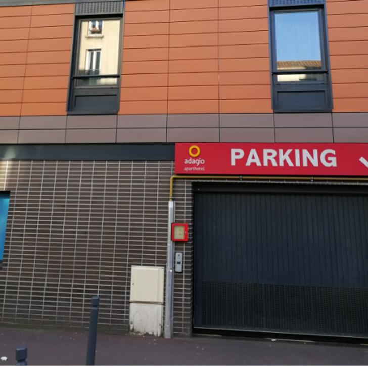 Parque de estacionamento Estacionamento Hotel APARTHOTEL ADAGIO PARIS MALAKOFF CHÂTILLON (Coberto) Malakoff