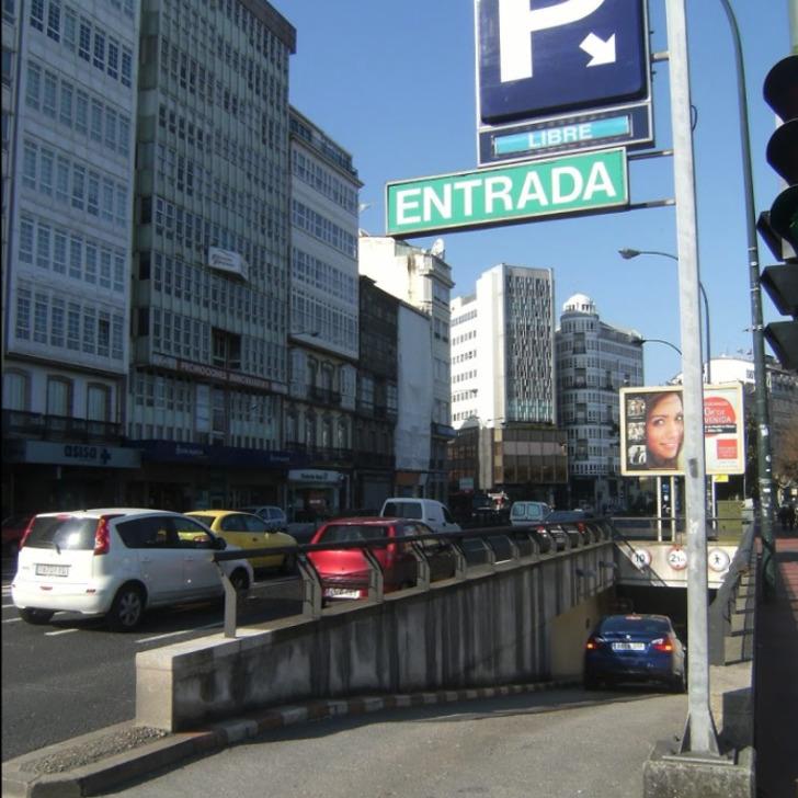 Öffentliches Parkhaus PARKING LOS CANTONES (Überdacht) A Coruña