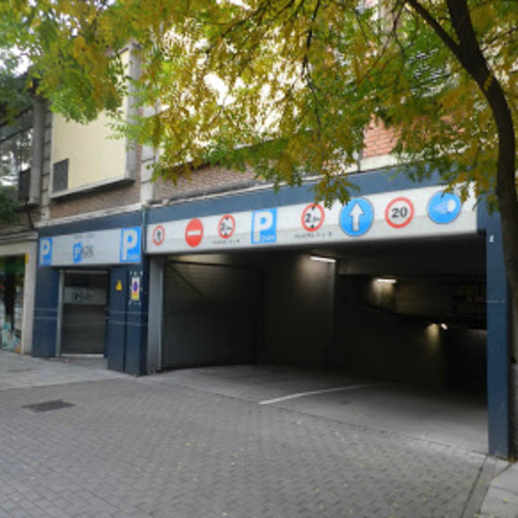 Öffentliches Parkhaus ORTEGA Y GASSET PARK (Überdacht) Parkhaus Madrid