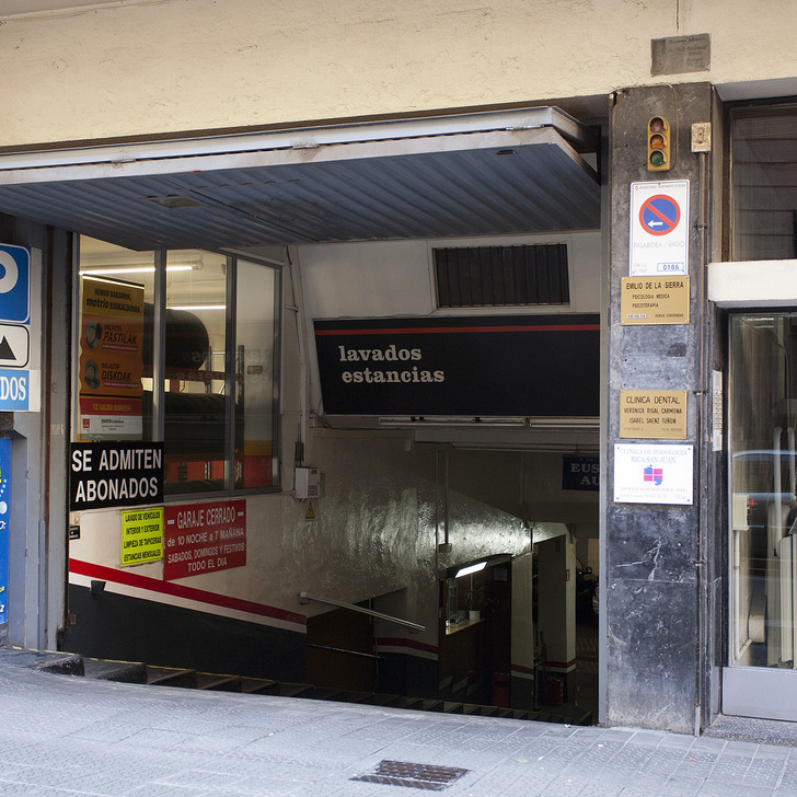 Parking Público GARAJE EUSKAL AUTO (Cubierto) Bilbao
