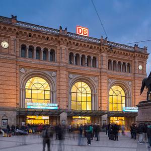 Hannover Hauptbahnhof Parkhaus