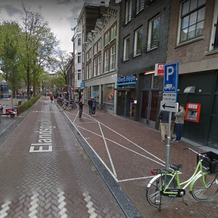 Parque de estacionamento Estacionamento Serviço de Valet WEPARC - ELANDSGRACHT (Coberto) Amsterdam