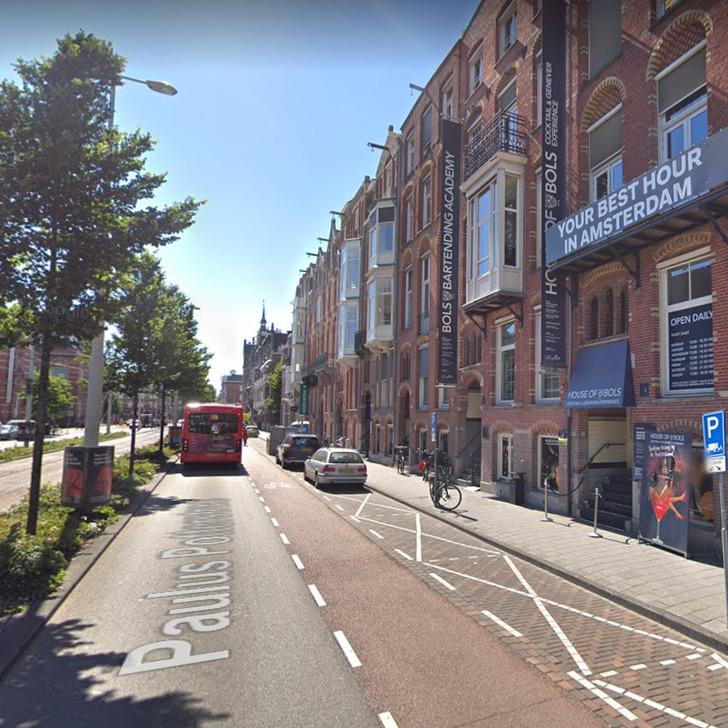 Estacionamento Serviço de Valet WEPARC - MUSEUM SQUARE (Coberto) Amsterdam