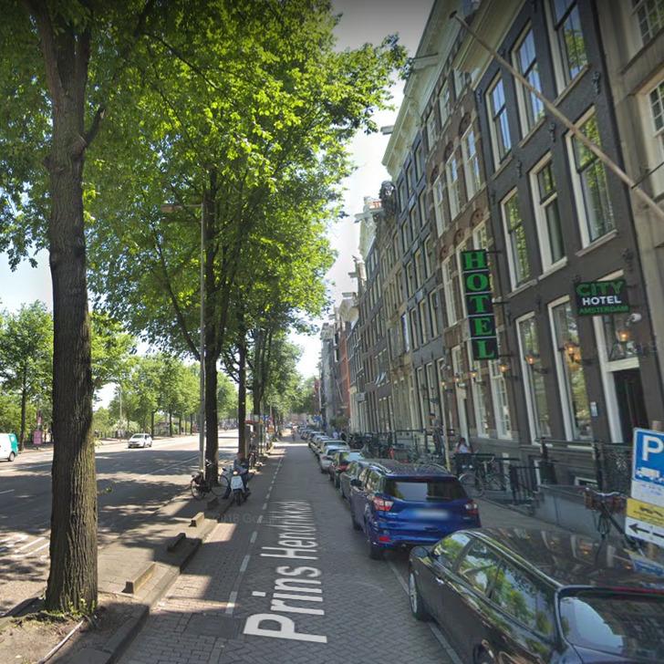 Parque de estacionamento Estacionamento Serviço de Valet WEPARC - PRINS HENDRIKKADE (OOSTERDOK) (Coberto) Amsterdam