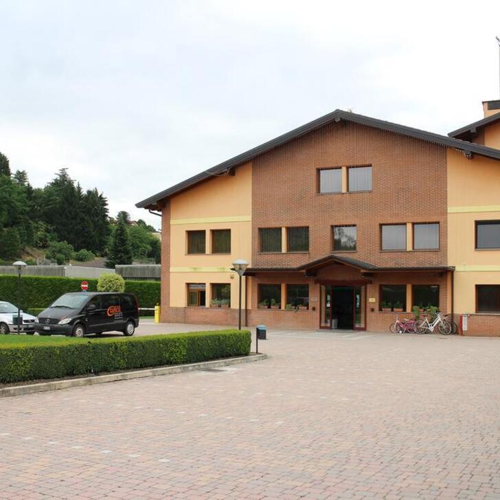ORANGE MOTEL HOTEL  Hotel Parking (Exterieur) Vergiate