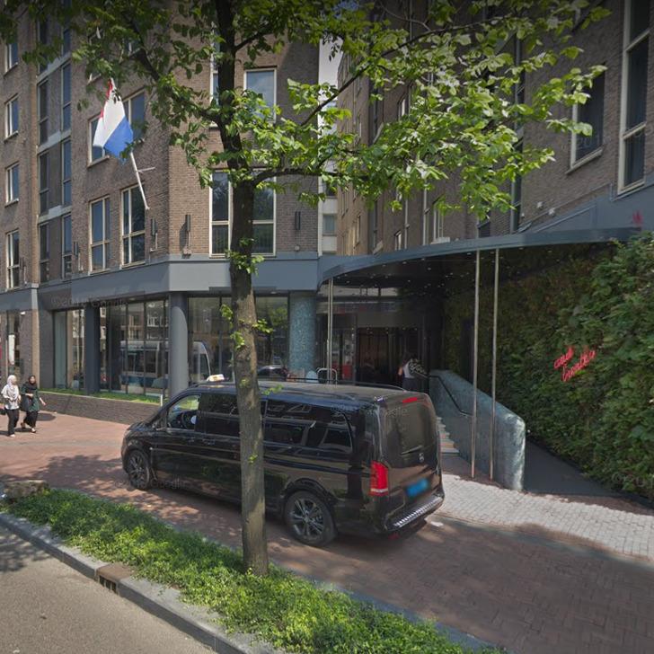 Parque de estacionamento Estacionamento Serviço de Valet WEPARC - NIEUWEZIJDS VOORBURGWAL (Coberto) Amsterdam