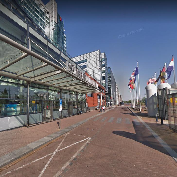 Estacionamento Serviço de Valet WEPARC - PASSENGER TERMINAL (Coberto) Amsterdam