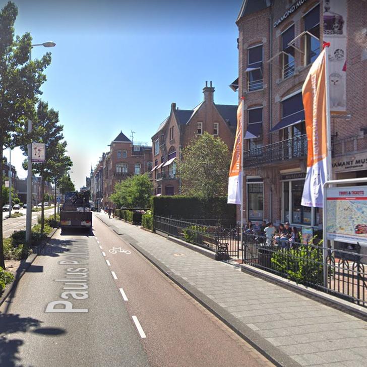 Parque de estacionamento Estacionamento Serviço de Valet WEPARC - MUSEUMSTRAAT (Coberto) Amsterdam