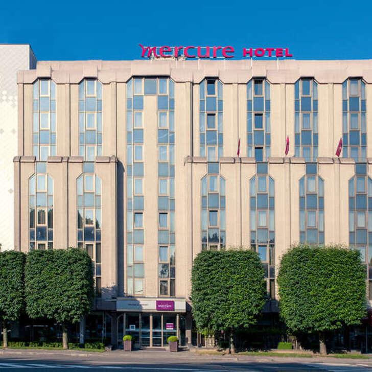 Hotel Parkhaus MERCURE BRUSSELS AIRPORT (Überdacht) Bruxelles