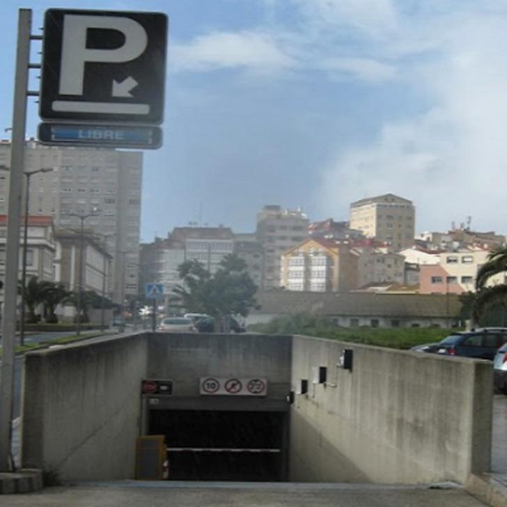 MAESTRANZA Openbare Parking (Overdekt) La Coruña
