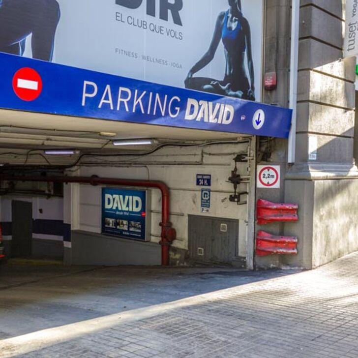 Öffentliches Parkhaus DAVID (Überdacht) Barcelona