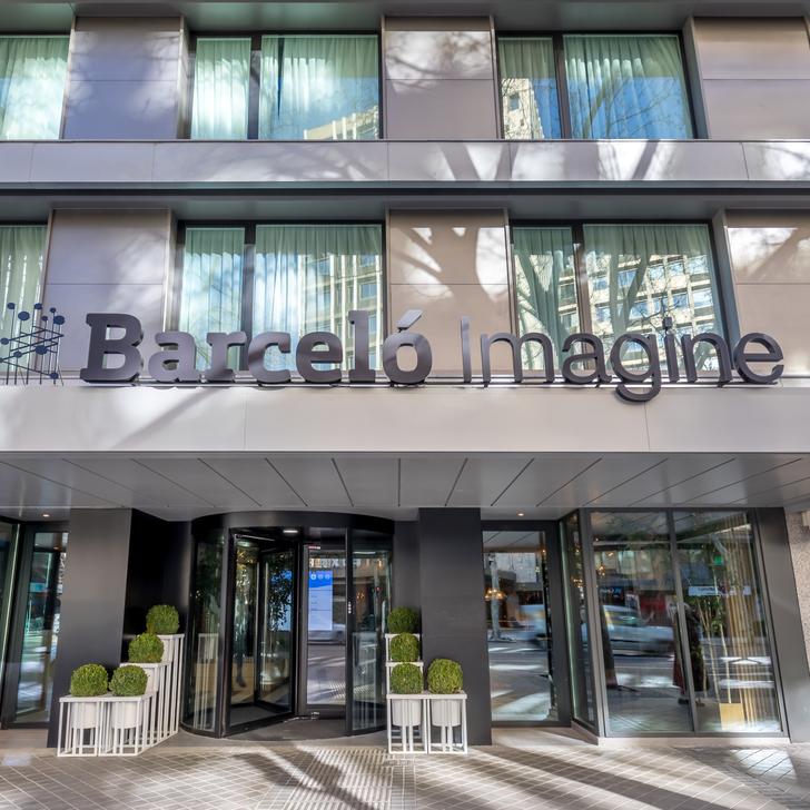 Parking Hôtel BARCELÓ IMAGINE (Couvert) Madrid