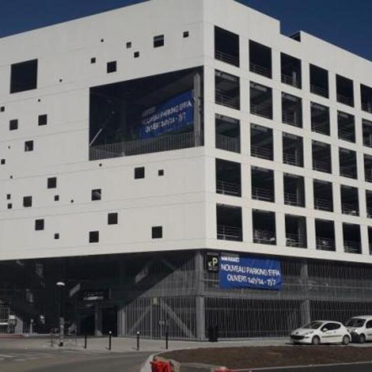 Parque de estacionamento Estacionamento Oficial EFFIA GARE DE NANTES SUD 1 (Coberto) NANTES