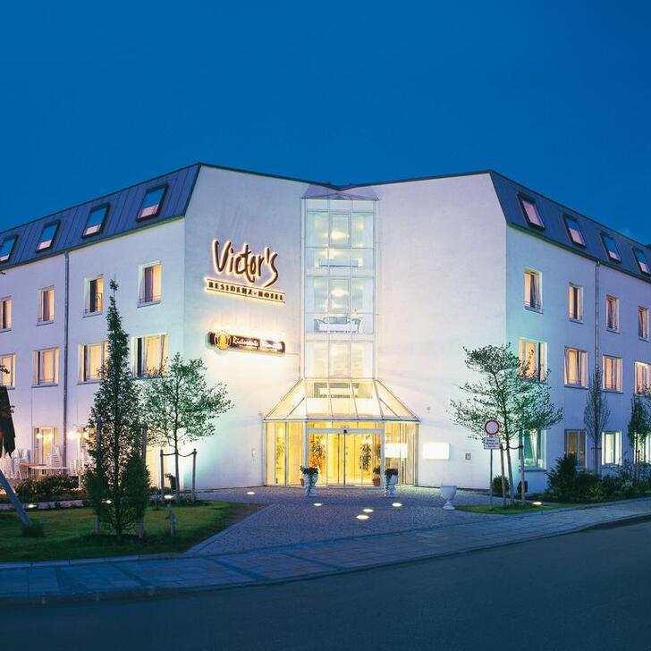 Hotel Parkplatz VICTOR'S RESIDENCE HOTEL MUNICH (Überdacht) Parkhaus Unterschleißheim