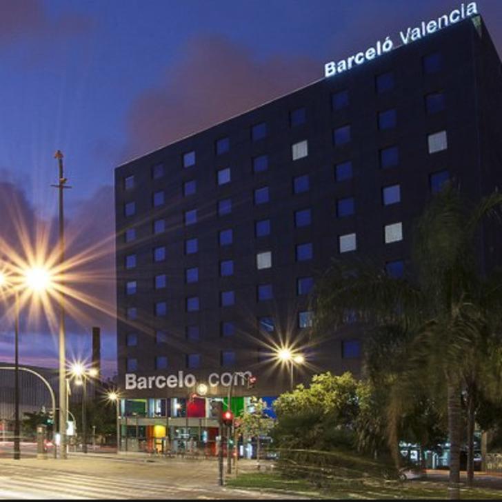 Barcelo Valencia Hotel Car Park Covered