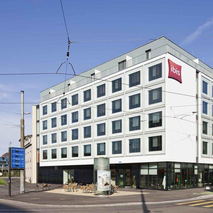 Parking Hôtel IBIS BASEL BAHNHOF (Couvert) Basel