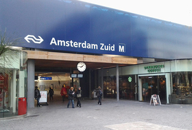 Station Amsterdam Zuid car park in Amsterdam: prices and subscriptions - Station car park | Onepark