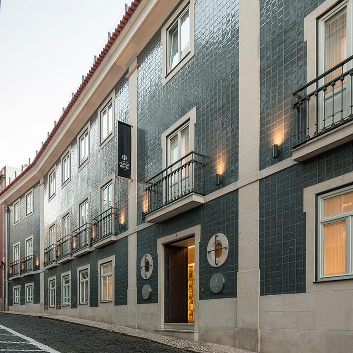 Parque de estacionamento Estacionamento Hotel LISBOA PESSOA HOTEL (Coberto) Lisboa