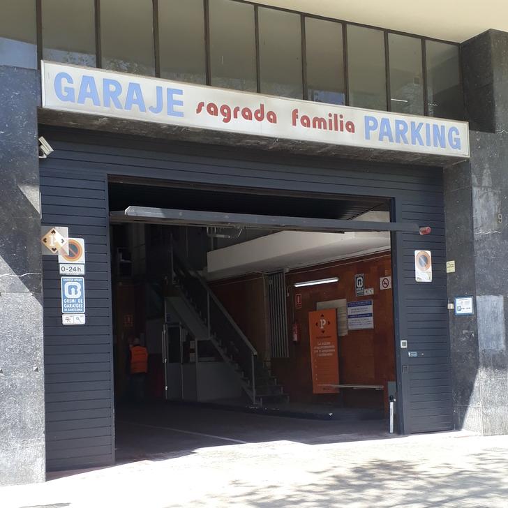 Öffentliches Parkhaus SAGRADA FAMILIA (Überdacht) Parkhaus Barcelona