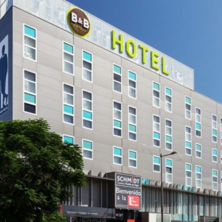 B&B HOTEL GRANADA Hotel Parking (Overdekt) Granada