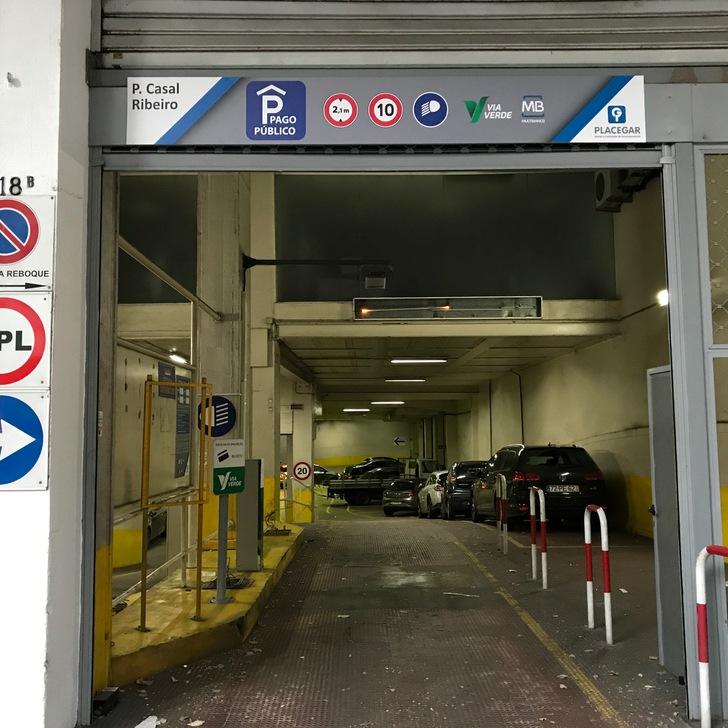 Parque de estacionamento Estacionamento Público PARQUE CASAL RIBEIRO (Coberto) Lisboa
