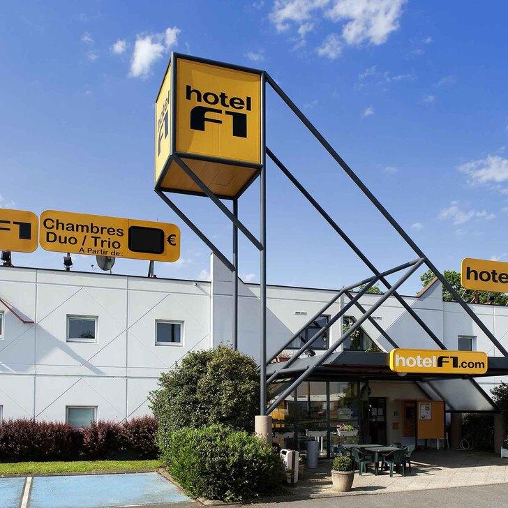 F1 MULHOUSE BÂLE AÉROPORT Hotel Parking (Exterieur) Saint-Louis