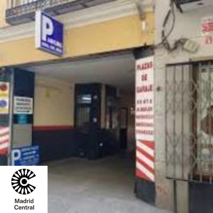Öffentliches Parkhaus JARDINES 16 MADRID (Überdacht) Madrid