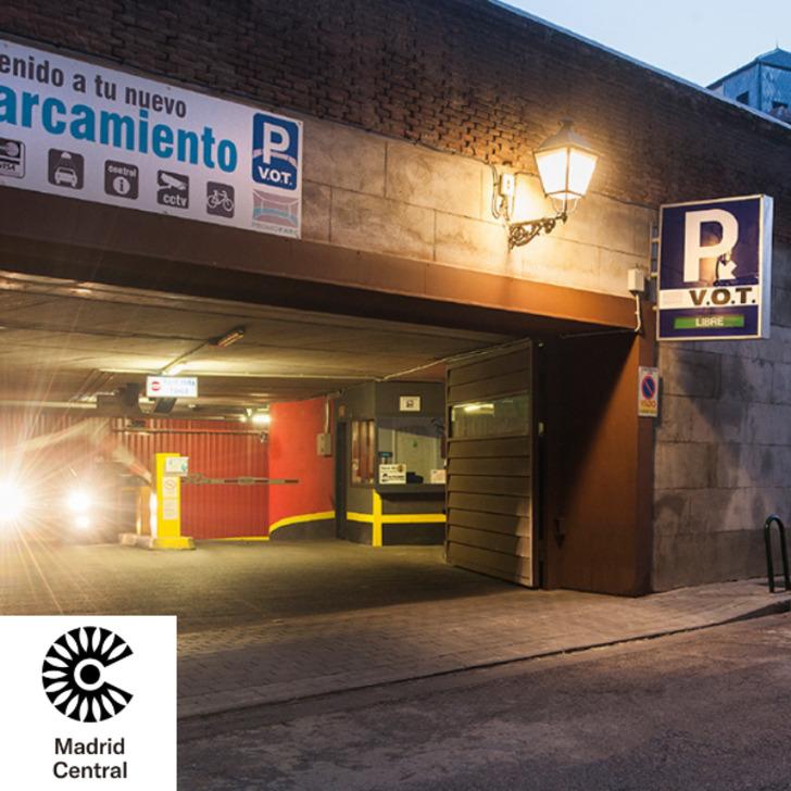 Öffentliches Parkhaus PROMOPARC HOSPITAL V.O.T. (Überdacht) Parkhaus Madrid