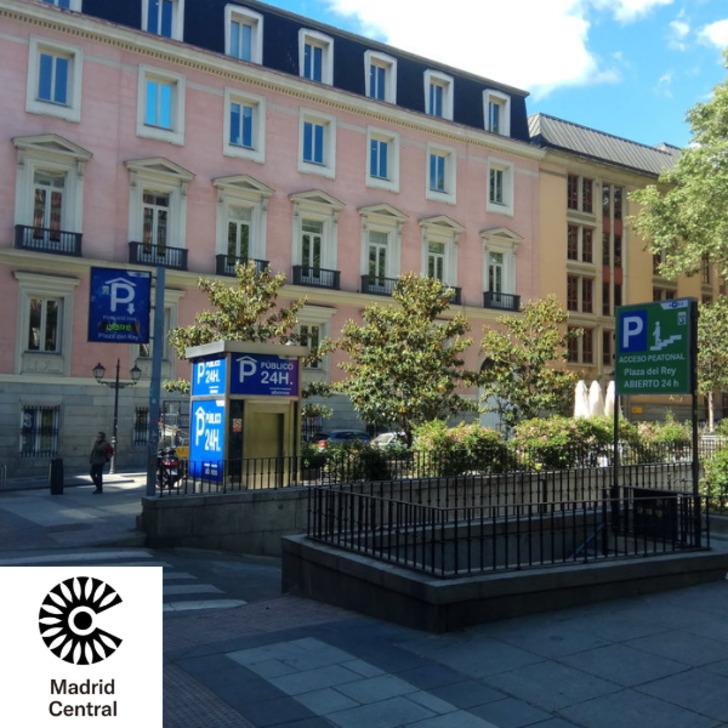 Öffentliches Parkhaus APK PLAZA DEL REY (Überdacht) Parkhaus Madrid