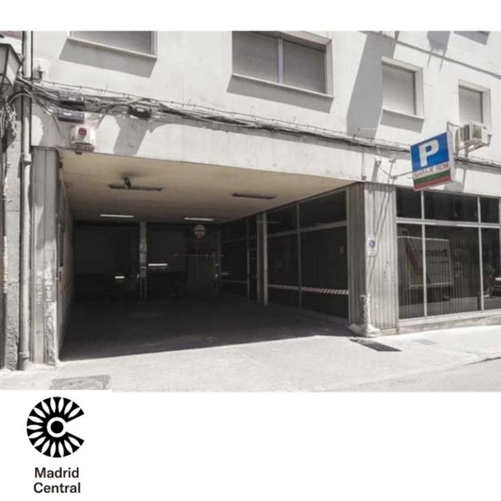 Öffentliches Parkhaus GARAJE REIM - PLAZA DE ESPAÑA (Überdacht) Parkhaus Madrid