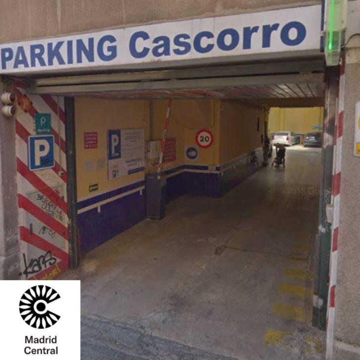 Öffentliches Parkhaus CASCORRO (Überdacht) Madrid