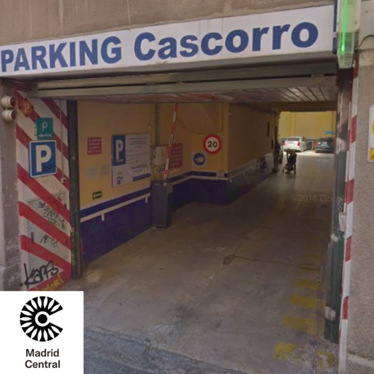 CASCORRO Openbare Parking (Overdekt) Parkeergarage Madrid