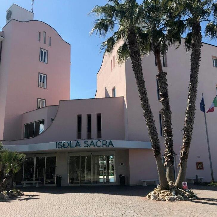 ISOLA SACRA ROME AIRPORT Hotel Parking (Exterieur) Fiumicino