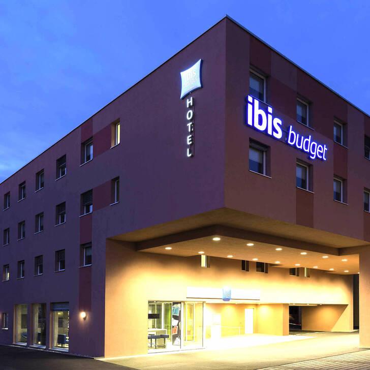 Parque de estacionamento Estacionamento Hotel IBIS BUDGET ZÜRICH AIRPORT (Coberto) Glattbrugg Opfikon