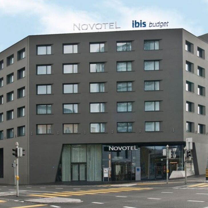 Parking Hotel NOVOTEL BASEL CITY (Cubierto) Basel