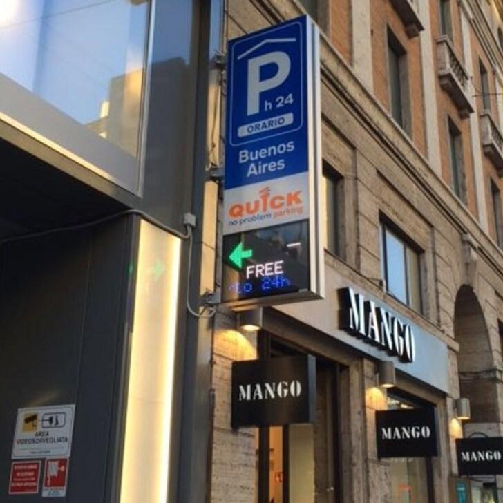 Parcheggio Pubblico QUICK BUENOS AIRES (Coperto) Milano