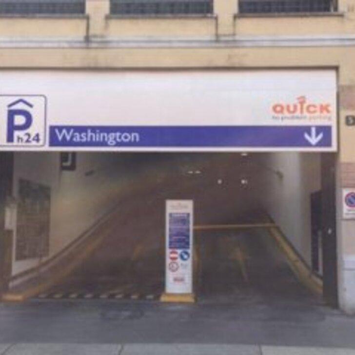 Parque de estacionamento Estacionamento Público QUICK WASHINGTON MILANO (Exterior) Milano