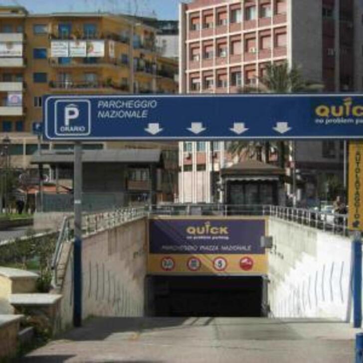 Parque de estacionamento Estacionamento Público QUICK STAZIONE CENTRALE NAPOLI (Coberto) Napoli