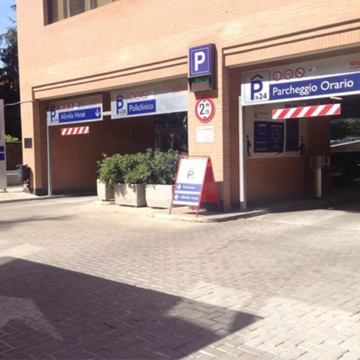 Öffentliches Parkhaus QUICK POLICLINICO  BOLOGNA (Überdacht) Bologna