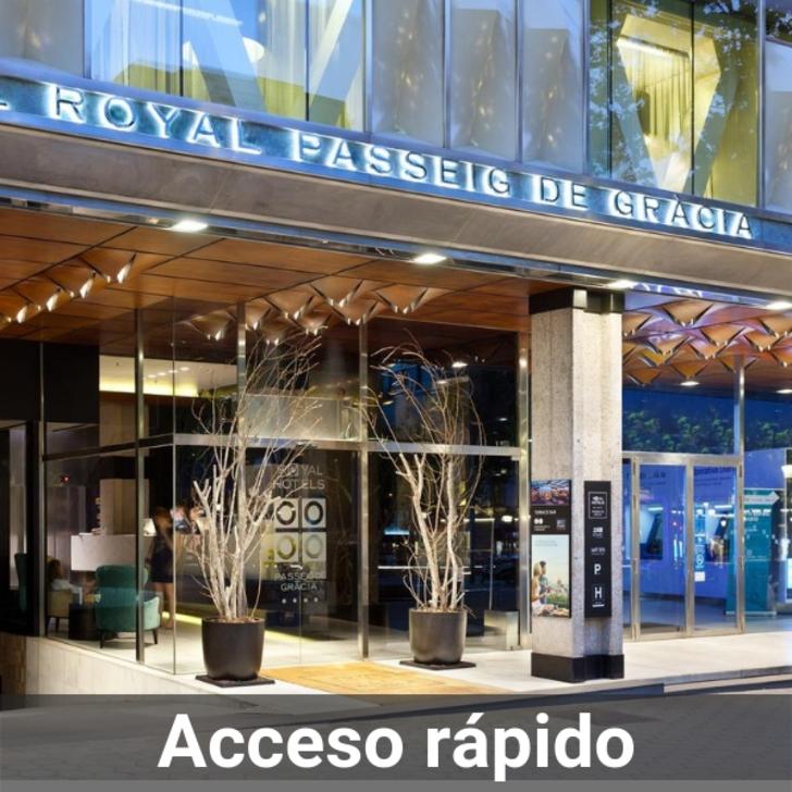 Parking Hotel ROYAL PASSEIG DE GRÀCIA (Cubierto) Barcelona