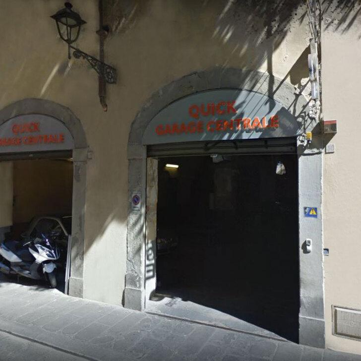 Parcheggio Pubblico QUICK GARAGE CENTRALE VIA DEI FOSSI (Coperto) Firenze