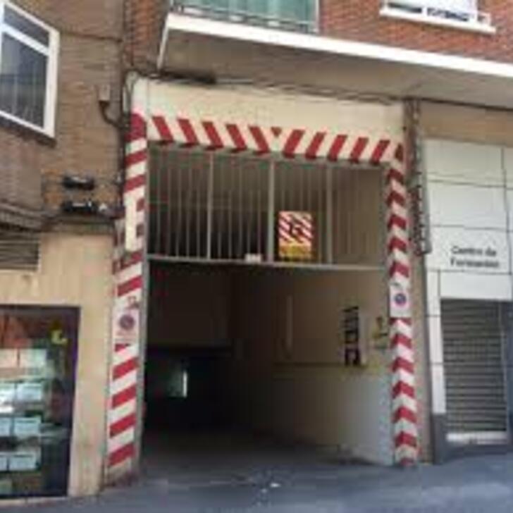 Öffentliches Parkhaus NARCISO SERRA (Überdacht) Madrid