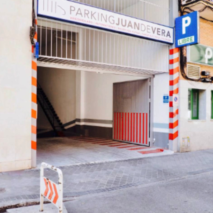Parking Public JUAN DE VERA (Couvert) Madrid