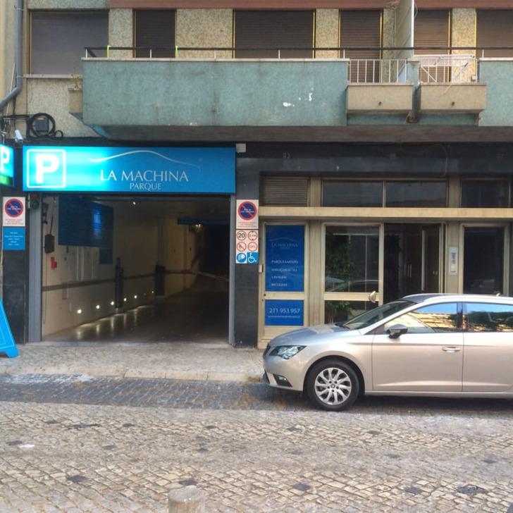 Parcheggio Pubblico PARQUE LA MACHINA (Coperto) Lisboa