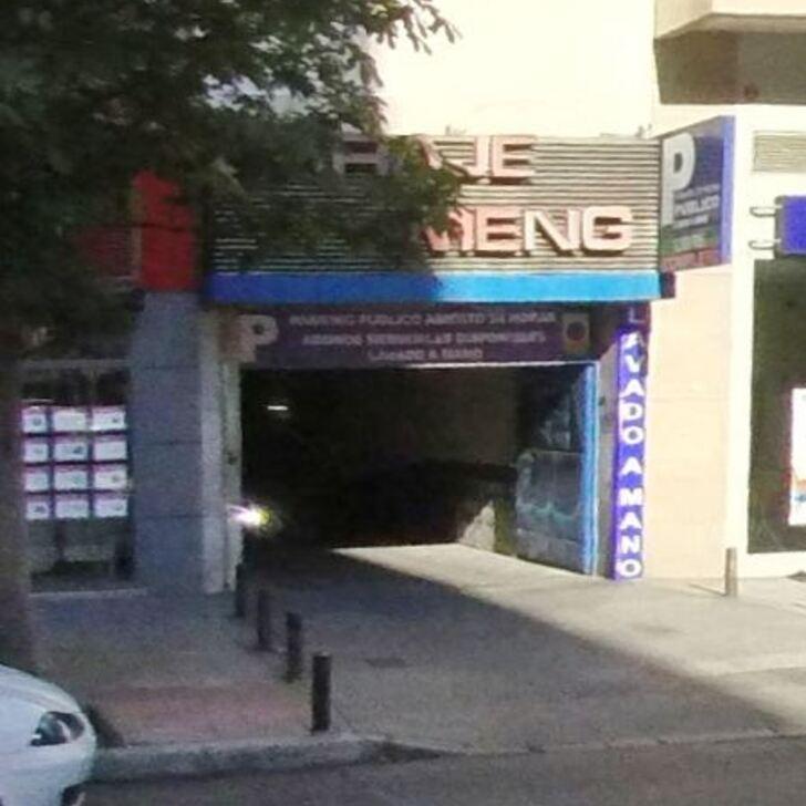 Öffentliches Parkhaus GARAJE MENGO (Überdacht) Madrid