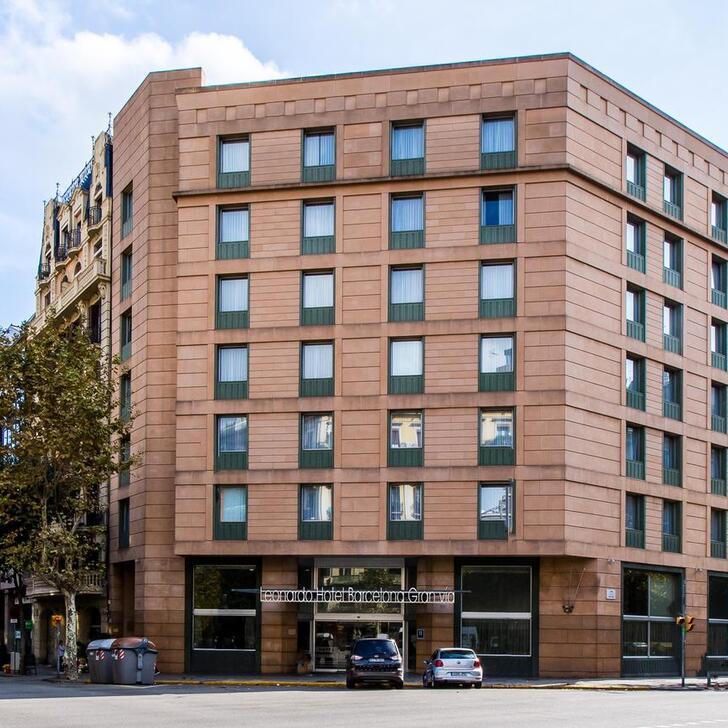 Hotel Parkhaus LEONARDO HOTEL BARCELONA GRAN VÍA (Überdacht) Parkhaus Barcelona