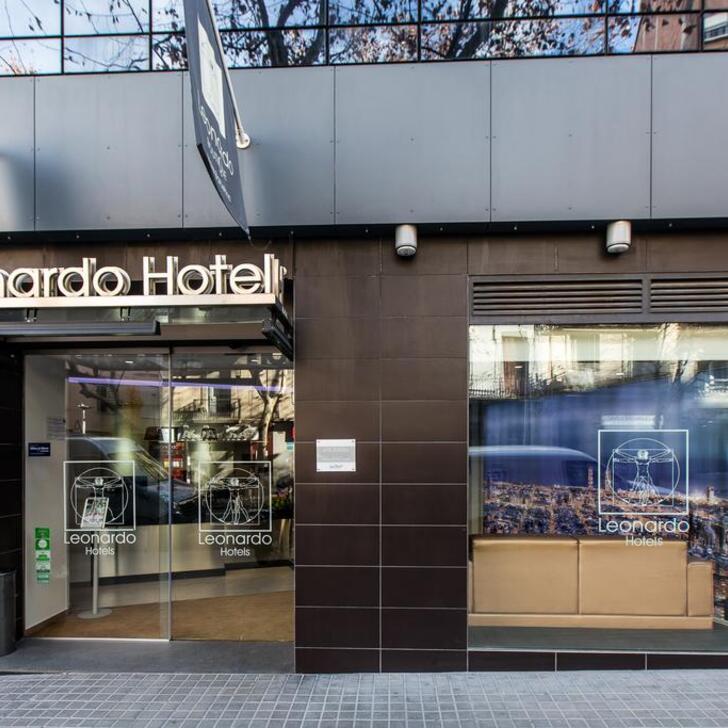 Parking Hôtel LEONARDO BOUTIQUE HOTEL BARCELONA SAGRADA FAMILIA (Couvert) Barcelona