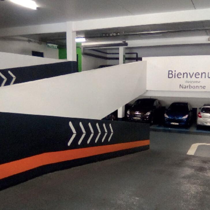 Parking Oficial EFFIA NARBONNE CATHÉDRALE (Cubierto) NARBONNE