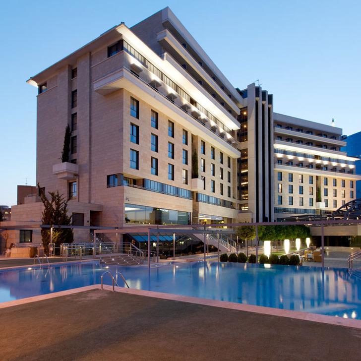 Parcheggio Hotel SANTOS NELVA (Coperto) Murcia