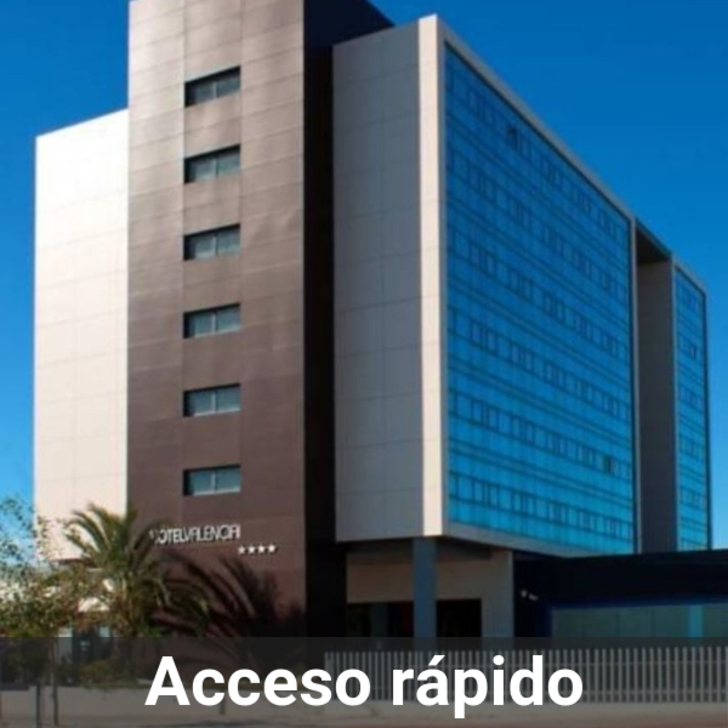 Parking Hotel VALENCIA CONGRESS AIRPORT (Cubierto) Paterna